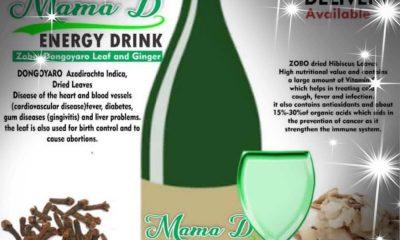 Mama D energy drink