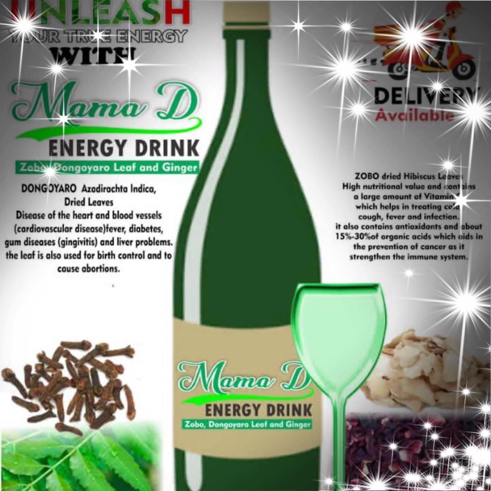 Mama D energy drink